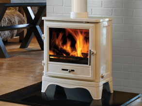 Capital: Bassington Skirted Enamel Multifuel Stove