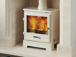 Capital: Bassington Baseline Enamel Multifuel Stove