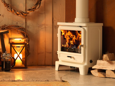 Capital Vega Edge 200SL Enamel Multifuel Stove