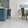 Moleanos Blue-Mix Brushed Limestone Tiles image 1