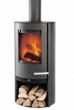 Termatech TT20R Black Woodburning Stove