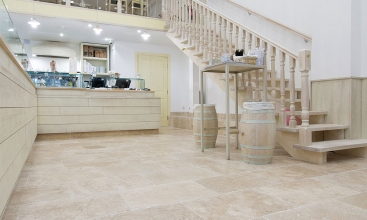 Classic Tumbled Travertine Tiles