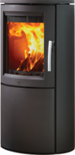 Varde Aura 1 Black Woodburning Stove