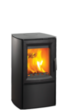 Varde Aura 3 Black Woodburning Stove