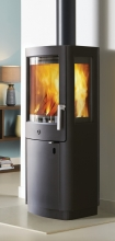 Varde Uniq 13 Black High Base Woodburning Stove